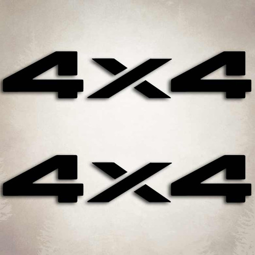 4x4 Dodge Dakota Ram Truck Decal Set