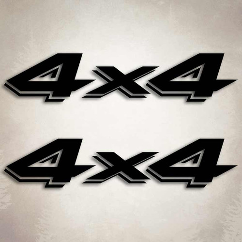 4x4 dodge dakota truck decal set