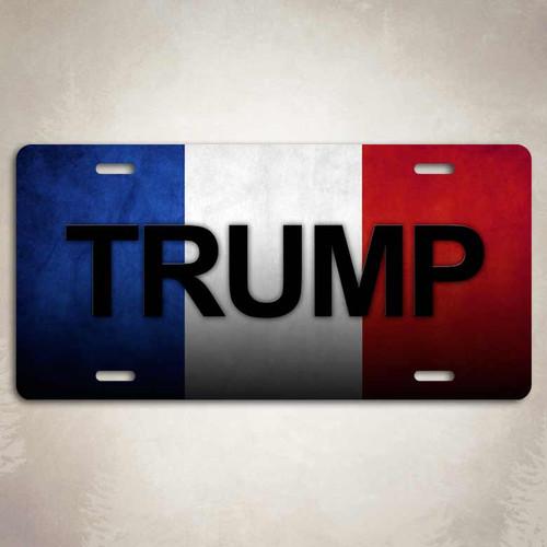 Donald Trump Presidential License Plate