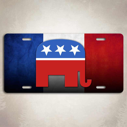 Republican GOP Elephant License Plate