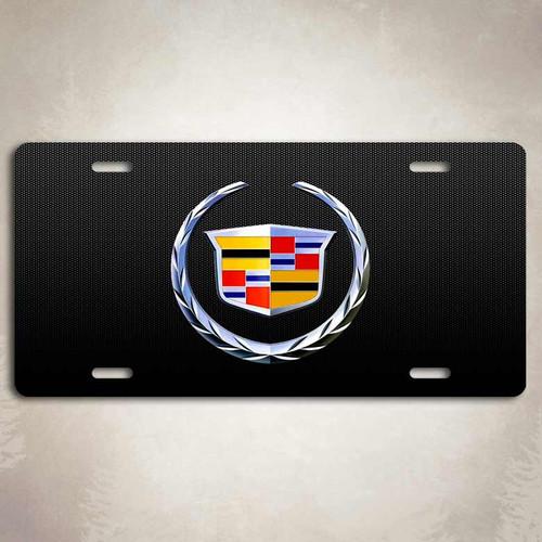 Cadillac Deville Emblem License Plate