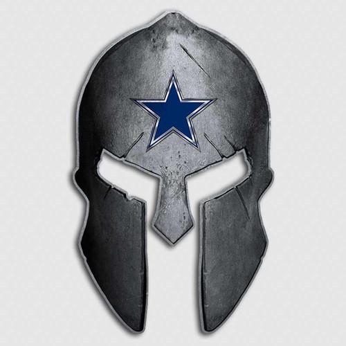 Dallas Cowboys Spartan Helmet Decal