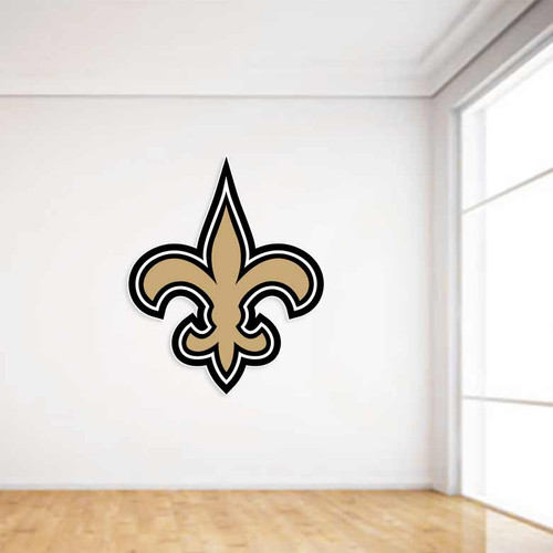 Saints Football Wall Decal