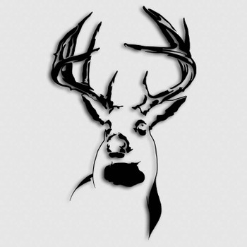 Whitetail Ranch Buck Deer Decal Aftershock Decals