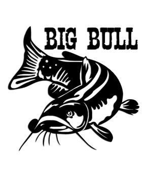 Bullhead Catfish Sticker Quot Big Bull Quot Aftershock Decals
