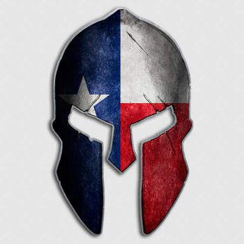 Lone Star Dodge >> Texas Flag State Spartan Helmet Decal | Lone Star Cowboys ...