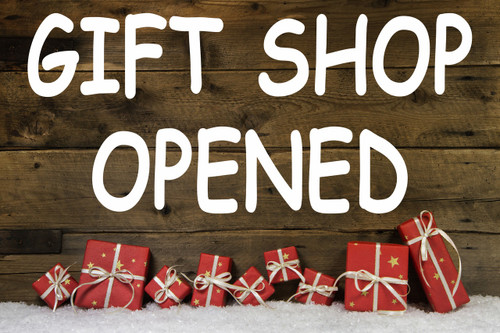 Gift Shop Banner by Stop The Traffic.