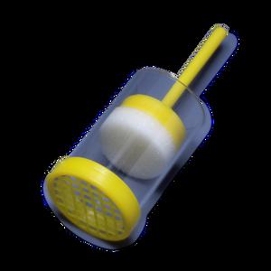 Queen Marking Holder- Clear Plastic Plunger