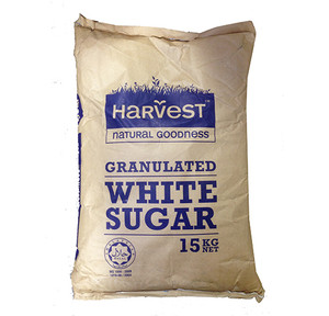 Manufacturers White Sugar 15kg Bag
