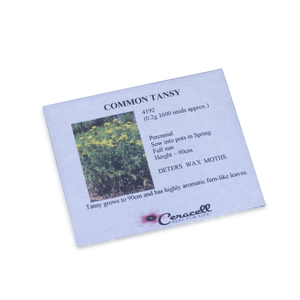Tansy Seed - Deters Wax moth