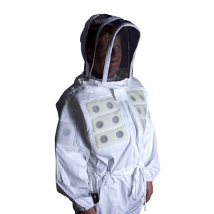 Ventilated Panel Bee Suit with Veil