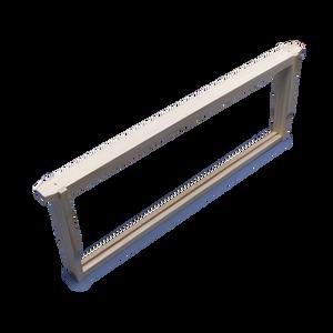 3/4 Depth Grooved Bottom Bar 33mm -  Assembled no Plastic Sheet