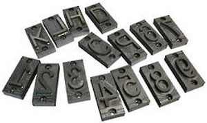 Branding Iron Additional Letters / Digits