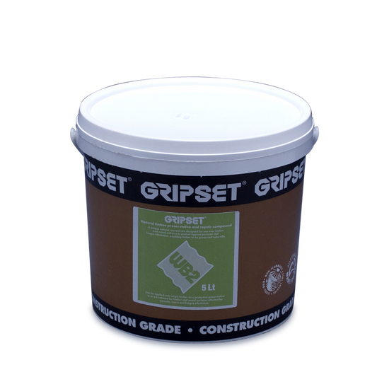 Gripset WB2 Natural Wood Preservative - 5 Litre