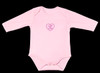 """Legend"" baby girl long-sleeve onesie front view"