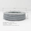 Marble Texture Like 3D Printing PLA Filament 1.75mm, 225g / 0.5lb
