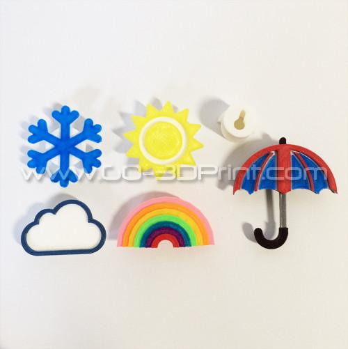 Coat / Jewelry Hanger Organizer Weather Wall Hook - Deluxe Set