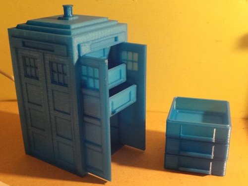 Tardis Jewelry Drawers