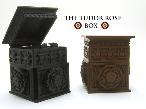 The Tudor Rose Box (with secret lock)