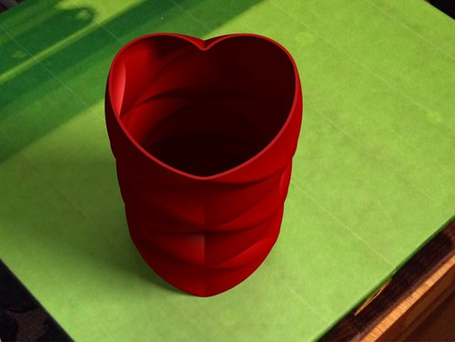 Love and Kisses Vase