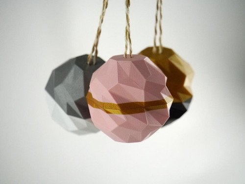 Bauble with a Twist Ornaments