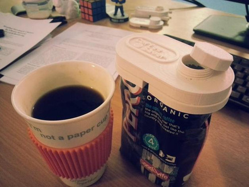 Coffee Saver Coffee Bag Cap