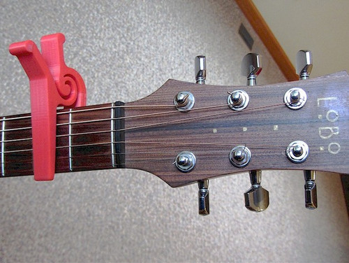 One-Piece One-Handed Guitar Capo
