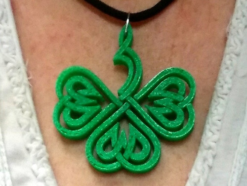 Celtic Clover Necklace & Pendant