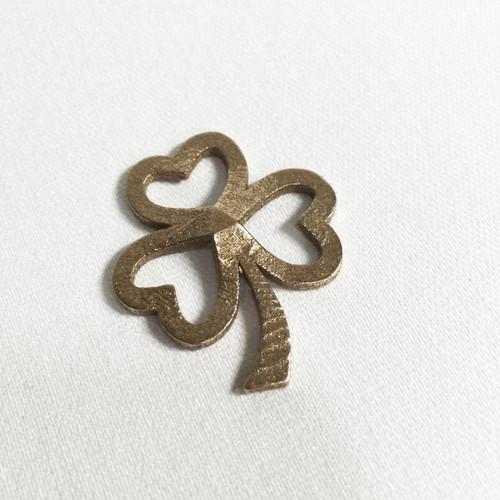 Heart Shamrock Pendant