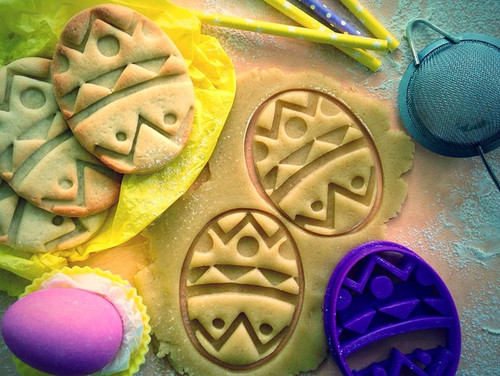 Easter Egg Cookie Cutter