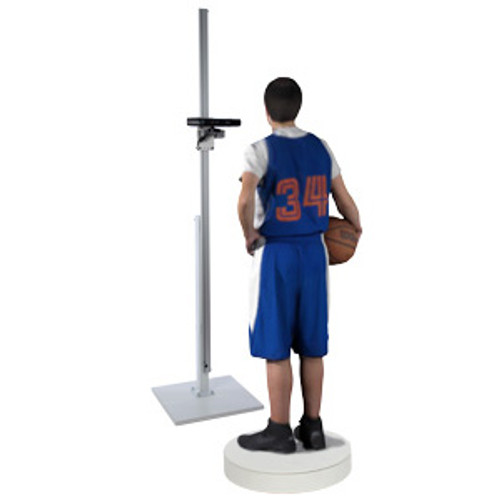 Full Body 3D Scanning Rig & Scanner System for RGBD sensor Kinect, Xtion, PrimeSense Carmine and all sensors compatible with Skanect