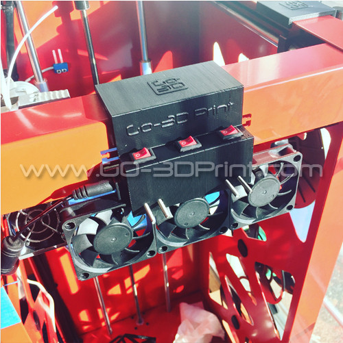 Builder 3D Printer Cooling System