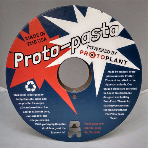 Proto-Pasta Carbon Fiber Reinforced PLA Filament 1.75mm (500 g)