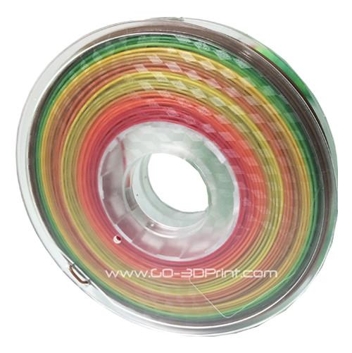 Multi Color Gradient 3D Printing PLA Filament 500g