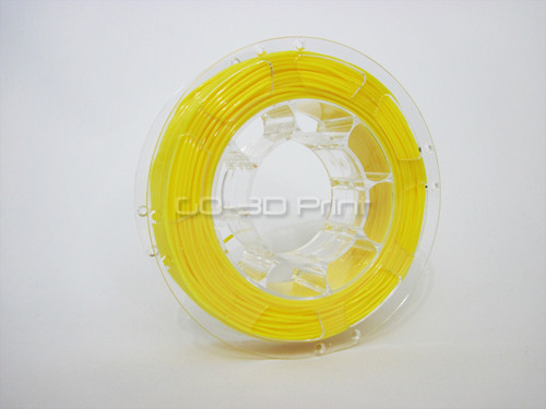 Yellow Flexible TPE 3D Printing Filament 1.75mm 200g
