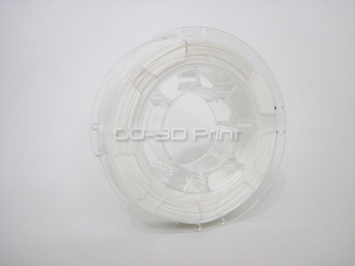 White Flexible TPE 3D Printing Filament 1.75mm 200g