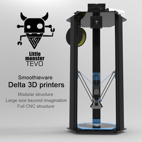 Tevo Little Monster Delta 3D Printer Kit