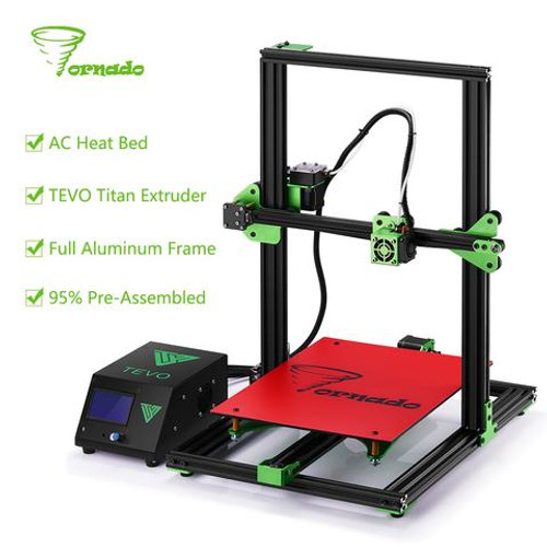 Tevo Tornado Fully Assembled 3D Printer Kit