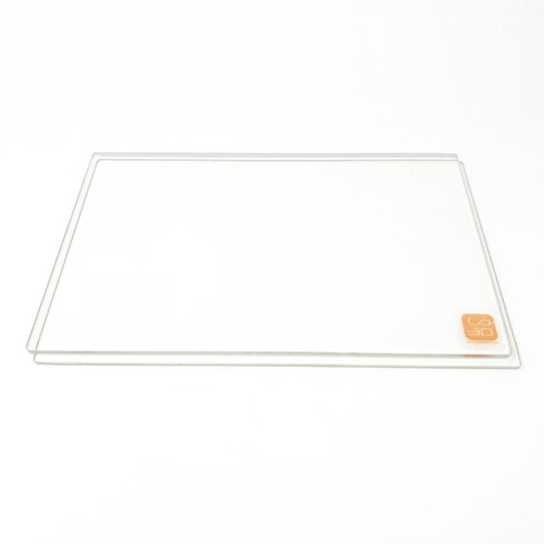 150mm x 230mm Borosilicate Glass Plate for 3D Printing - 2 Pcs