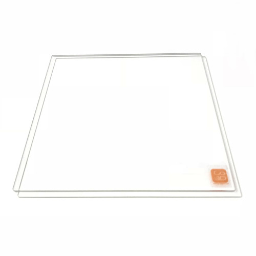 200mm x 200mm Borosilicate Glass Plate for 3D Printing - 2 Pcs