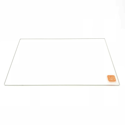 218mm x 250mm Borosilicate Glass Plate for 3D Printing
