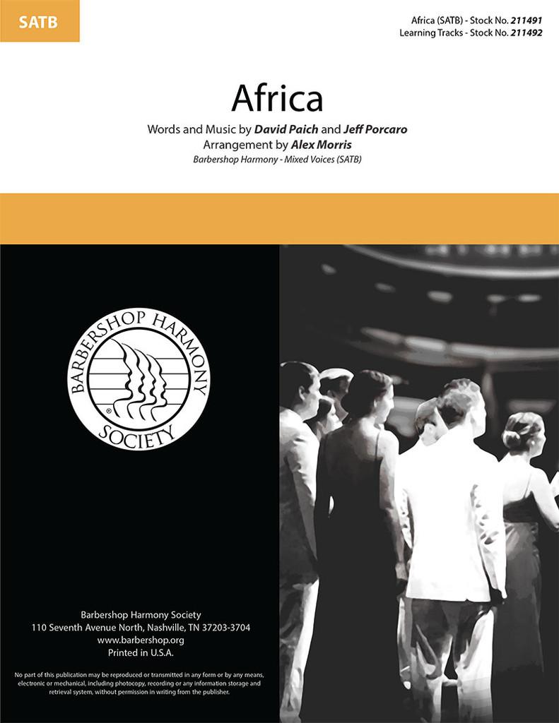 Africa (SATB) (arr. Morris)