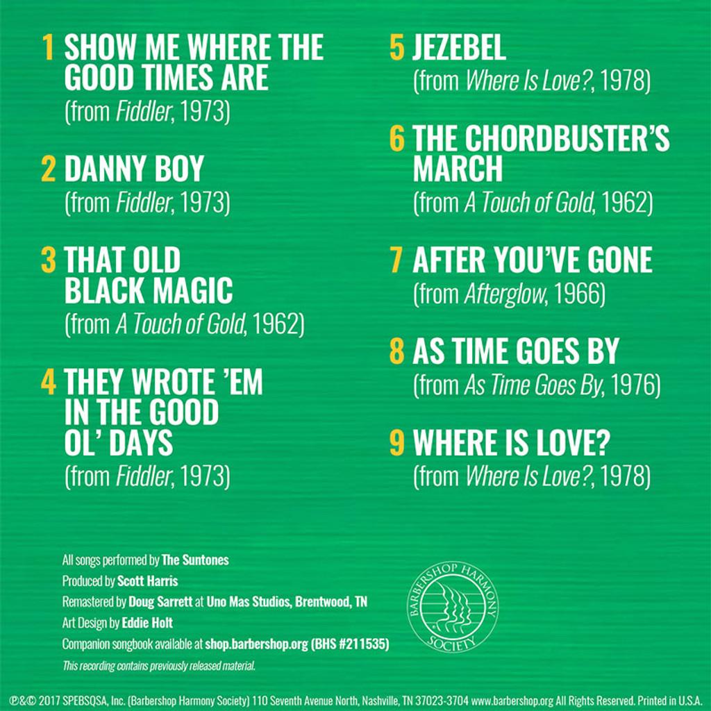 Best of the Suntones Full Mix - CD