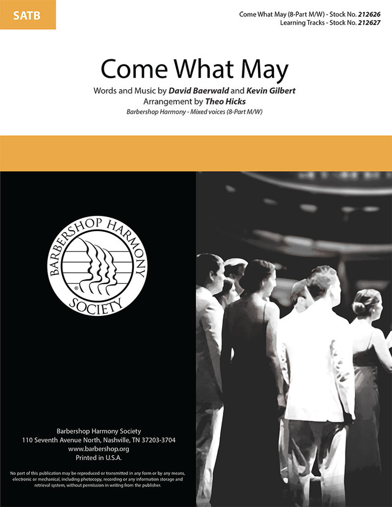 Come What May (8-part M/W) (arr. Hicks)