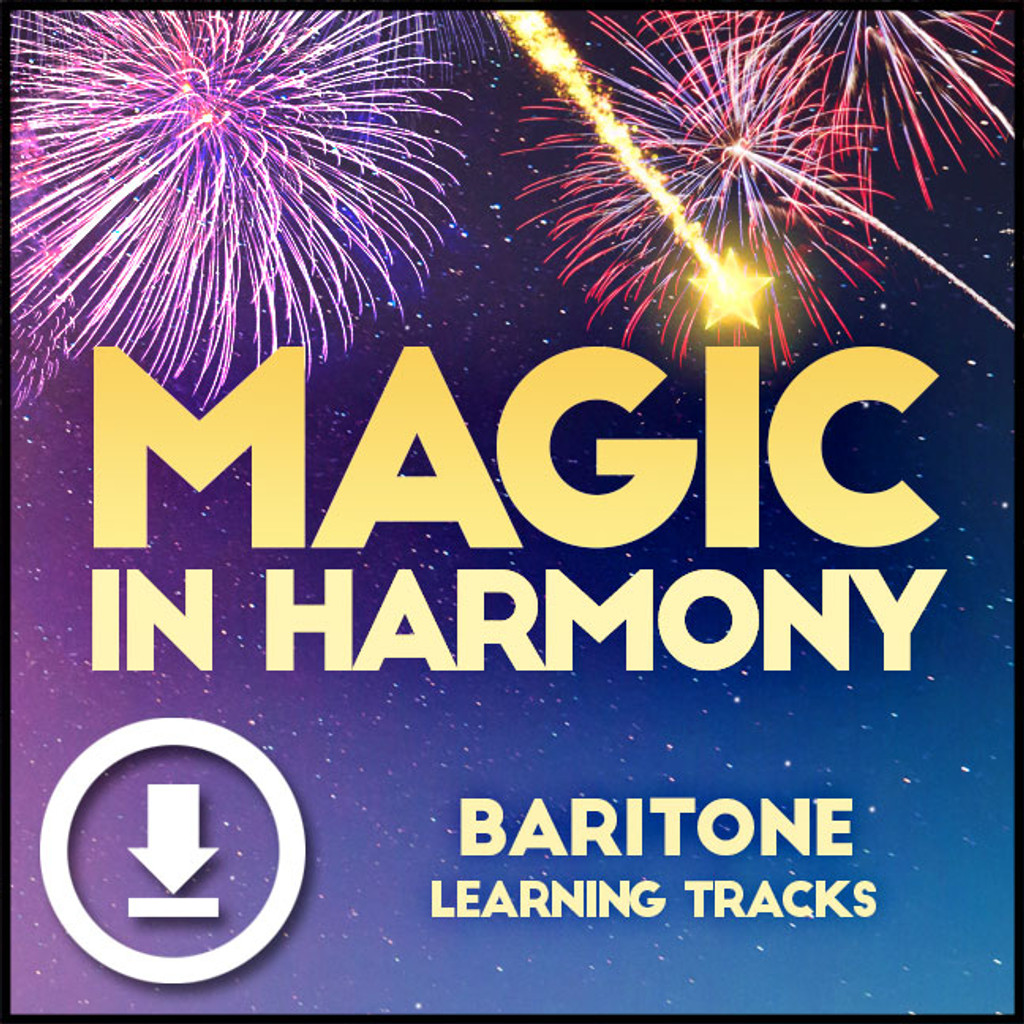 Magic in Harmony (Baritone) - Digital Learning Tracks - for 212660