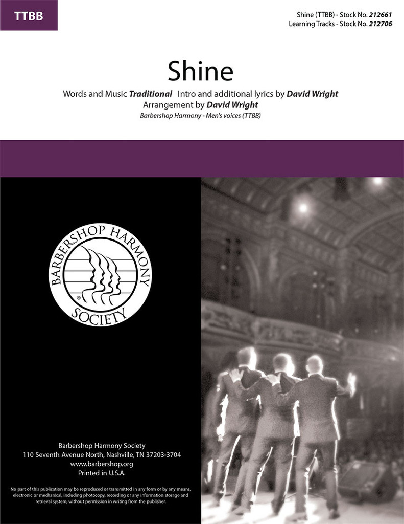 Shine (TTBB) (arr. Wright)