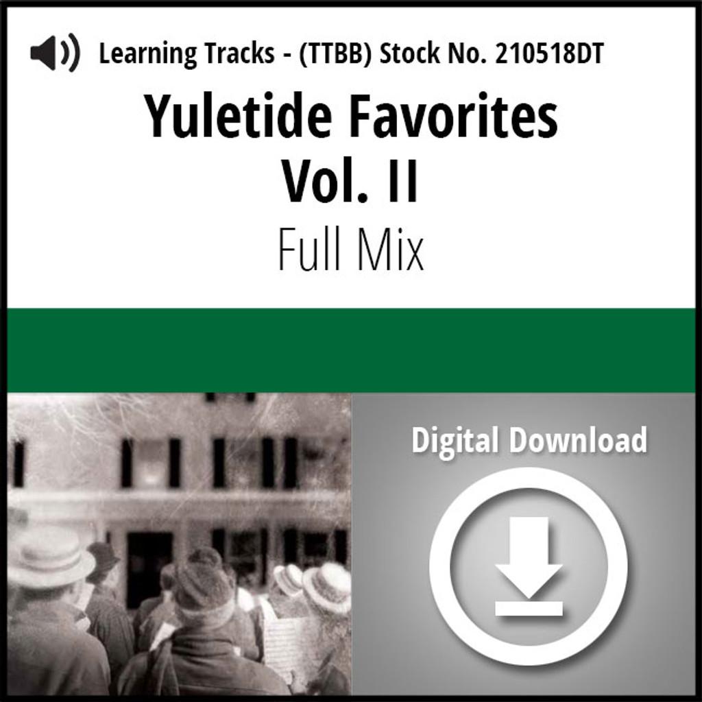 Yuletide Favorites Vol. II - Digital Listening Demo - (FULL MIXES ONLY) for 210494