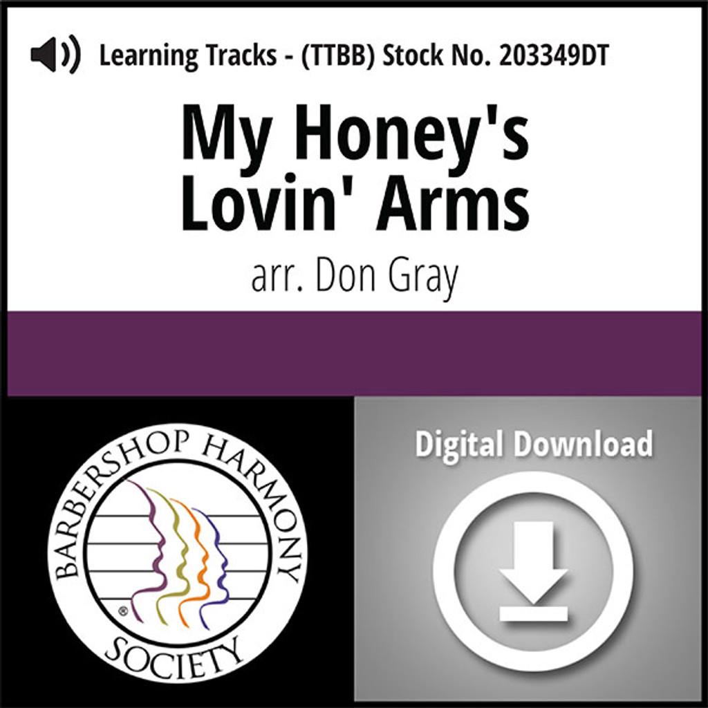 My Honey's Lovin' Arms (TTBB) (arr. Gray) - Digital Learning Tracks for 203130
