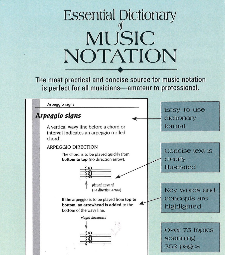 Dictionary of Music Notation