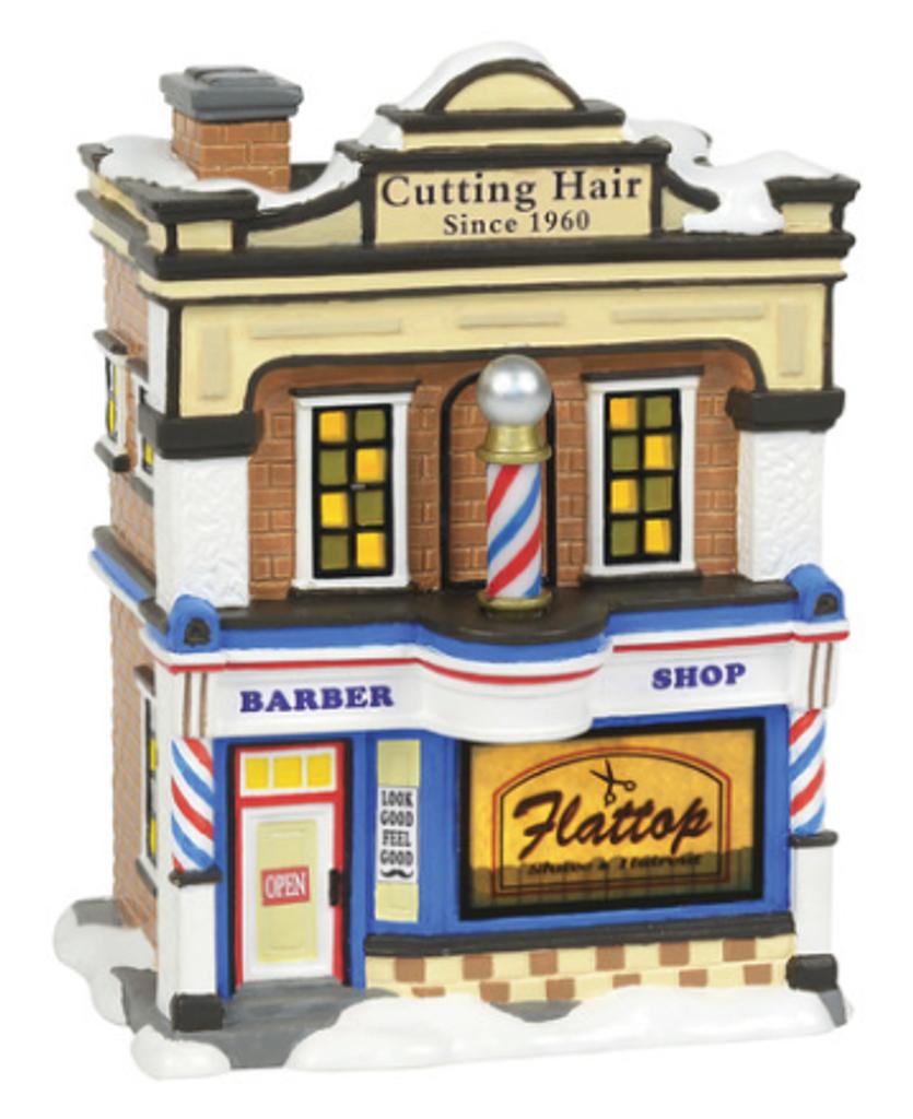Flattop Barbershop by Enesco
